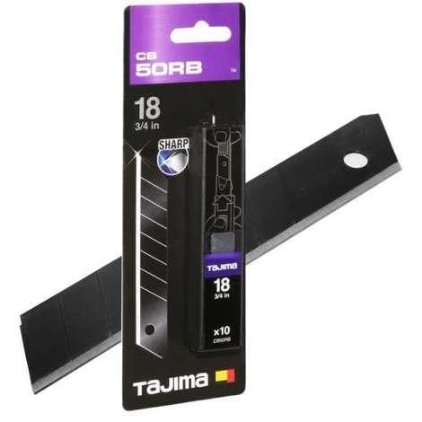 Tajima DORA Cutterklinge RAZAR BLACK 18mm