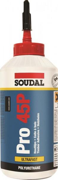 Soudal Holzleim Pro 45P 750g Flasche
