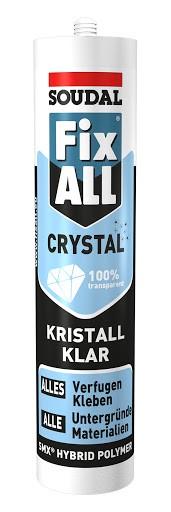 Soudal Fix All Crystal Montagekleber 300gr.