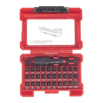 Milwaukee Shockwave Compact-Set 32-tlg.