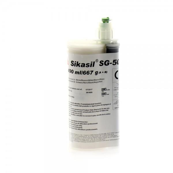 Sikasil SG-500 Schwarz 490ml