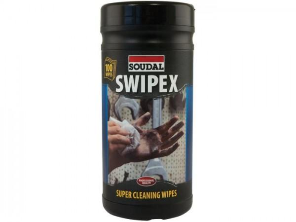 Soudal SWIPEX Reinigungstücher Dose à 100 St.