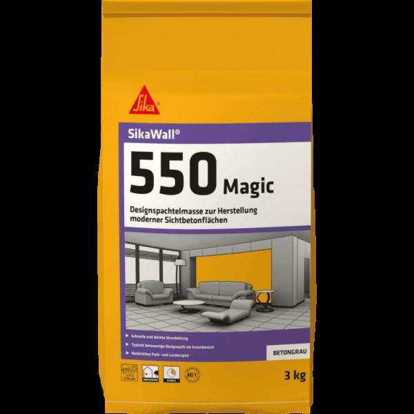 SikaWall 550 Magic Sichtbetonspachtel 3Kg Beutel